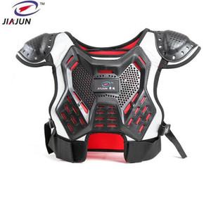 Jiajun Kinder Professional Support Körper Spine Rüstung Westen Kinder Motocross Rüstung Ski Rückenstütze Motorrad Schutz zurück