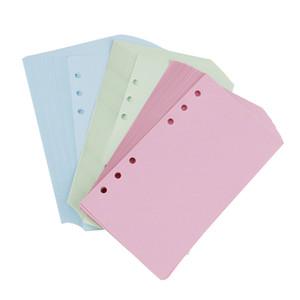 40 장 루스 리프 일기 리필 주최자 A6 할 일 / 공백 / 괘선 / 격자 플래너 리필 오거나이저 Stationery Notebook