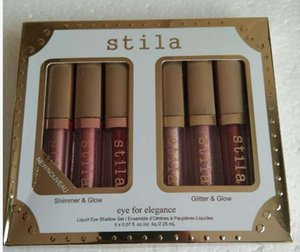 New Stila Eye for Elegance set Shimmer Glitter Liquid EyeShadow 3pcs