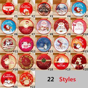 Moda Sevimli Yeni 3D Baskılı Desen Noel Baba Ifadeler Çanta Noel Dekorasyon çocuk Hediye Çantaları H0204