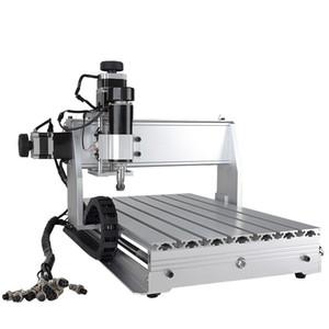 CNC 3040 Z-DQ 4 ejes Eje de enrutador CNC Bola de corte Tornillo Fresado Fresado Máquina de grabado Mimi CNC 3040 500W Conexión USB