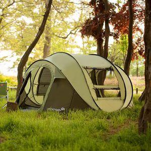 285 * 215 * 126cm 5-6 personne spéciale intérieure et extérieure multi-usages enfants pop up tentes pop up tente chaude moustique famille tente de camping