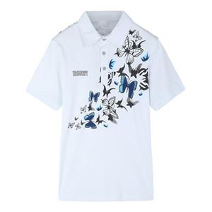 Gran patio M 6XL Homme camisas de diseño de la mariposa camisas formales verano de los hombres Top Clothes