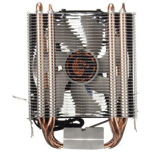 Бесплатная доставка новый 4 Heatpipe CPU Cooler радиатор для Intel LGA 1150 1151 1155 775 1156 (для AMD)