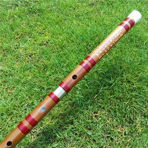 A005 Concert Niveau chinois professionnel Bambou Flûte traversière Dizi C D E F G Touche