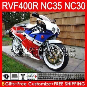 RVF400R para HONDA VFR400 R NC30 V4 VFR400R 89 90 91 92 93 82HM.27 RVF VFR 400 R NC35 VFR 400R en venta azul 1989 1990 1991 1992 1993 Carenados