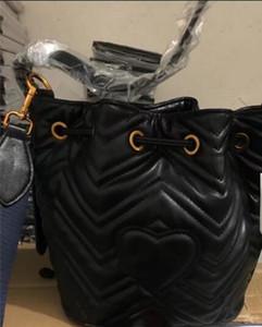 Sıcak Satış Moda YENI Tasarımcı Marmont KALP KOLU OMUZ ÇANTA MESSENGER ÇANTA HANDABGS PURSE