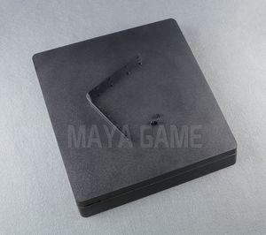 Voll gehäuse shell case für ps4 slim konsole schwarz farbe für ps4 2000 konsole gehäuse case abdeckung haus shell haben logo