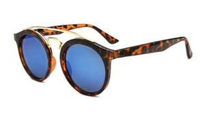 Marke Sonnenbrille Männer Frauen Mode Sonnenbrille Retro Gläser Marke Design Runder Rahmen UV400 Goggle Outdoor Bunte 50mm Objektiv