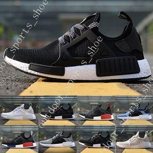 2018 MMD Xr1 R1 монохромный сетка тройной белый черный мужчины обувь женщины кроссовки Кроссовки оригиналы MMD Бегун Primeknit Повседневная обувь 36-45