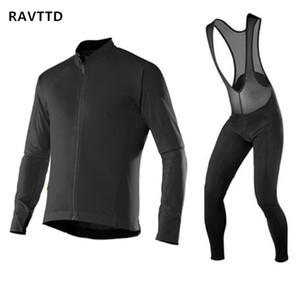 Nouvelle Hiver Veste En Molleton Thermique Vélo Jersey Ropa Maillot Invierno Ciclismo À Manches Longues Vélo VTT Vêtement Vêtement Kits