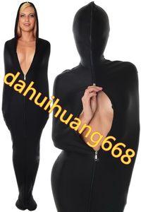 Черный лайкра спандекс мумия костюм костюмы спальные мешки унисекс мумия костюмы спальные мешки наряд хэллоуин косплей костюмы DH115
