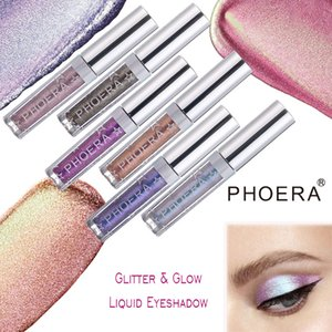 PHOERA Eye Shadow Twinkle Diamonds Color Intrigue Ability In Swimming Pearl Light Eye Shadow European Color 12 Color