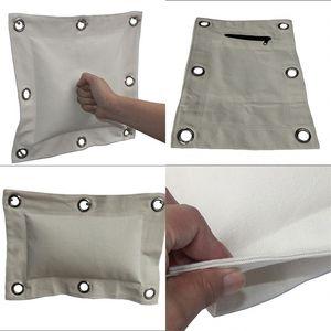 Männer hängen Typ Canvas Boxing Emepty Sandsäcke Cremig White Durable Firm schwer zu tragen Boxsack Essential 15jw aaWW