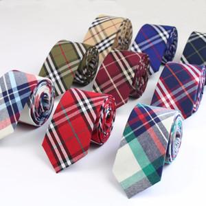Laço de Algodão comercial Cor Clássica Arco Íris Costura Gravata Lindo Arco Íris Mens Estreito Gravatas Designer Artesanal Gravatas