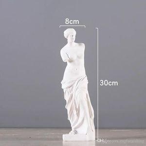 piena pezzo statua Brokeback Venere di Milo Cupido resina Figura ornamenti resina fornire domestico artigianato regali di Natale