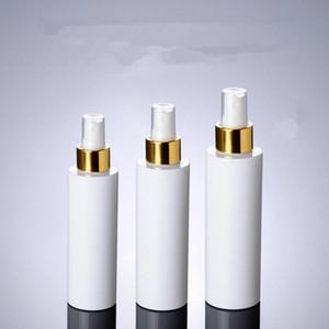 100ML 150ML 200ML مضخة الرش الأبيض حاويات زجاجات بيضاء ، زجاجة رذاذ بلاستيكية بيضاء فارغة للتغليف مستحضرات التجميل F1380