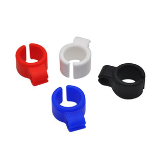 Silicone Smoking Cigarette Holder Joint Holder Ring For Regular Size (7-8mm) Cigarette mix Colored Smoking accessories
