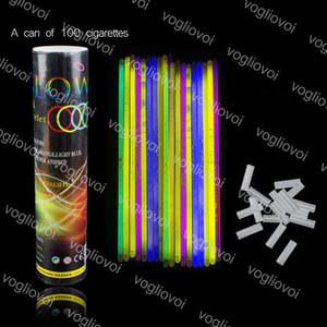 Neuheit Beleuchtung Ulticolor Glow Armband Halsketten Neon Party blinkende Lichtstock Zauberstab Spielzeug LED Vokalkonzert Flash Sticks Epazke