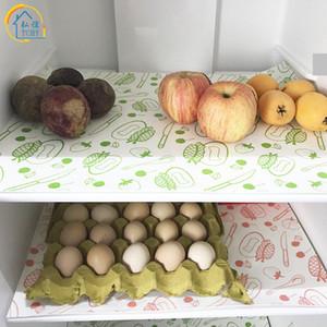 TCHY 1 pc Non-Tissé Napperon Réfrigérateur Pad Cuisine Accessoires Fecoration Maison pour Frigo Mats Waterproof bol détenteurs