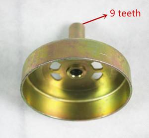 Roda dentada de embreagem / tambor de embreagem 9T para 1E40F-5 40F-5 40-5 cortador de escova do aparador de motor