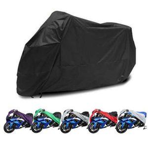 Motorcycle Cover Waterproof Outdoor Uv Protector Bike Rain Dustproof Motorbike Motor Scooter L XL XXL Red Black Silver Purple