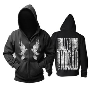 Envío gratis HOLLYWOOD UNDEAD freeshipping Death metal hardcore Men In Black Hoodie