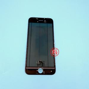 Reemplazo de calidad superior Pantalla táctil frontal Lente exterior de vidrio + Marco + OCA + Película polarizadora original para iPhone 5 6 7 8 S Plus