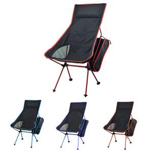 Allonger pêche pliable portable Chaise légère Camping Stool Festival pêche en plein air de pique-nique barbecue sur la plage Chaises