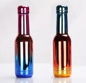 2018 Nuova bottiglia di acqua a forma di Cola a forma di bottiglia da 500 ml da 17 once a doppia parete