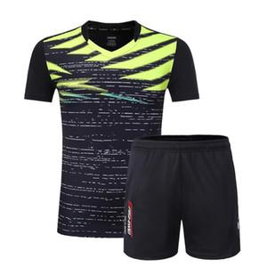 Badminton Team Jersey Uomo / Donna Set di vestiti da tennis T-shirt da tennis da allenamento T-shirt da allenamento gratuita