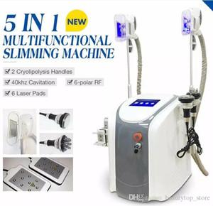 EUA Tax Free 2 tratamento crio diferente Cavitação ultra-sônica Cryotherapy Congelamento de Gordura Frio Emagrecimento Celulite Redução Contorno Máquina do Contorno