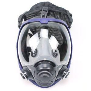 TSAI Full Face Outdoor Radfahren Halbmaske Gas für Industrie-Malerei mit Baumwolle Filter Anti-Staub-Masken-Sicherheit