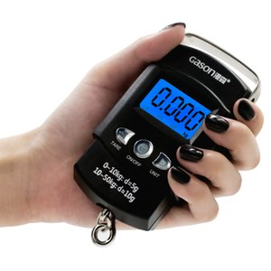 GASON X1 Portable Digital Luggage Scale Travel Electronic Mini Hanging Tools Gram Precision Balket LCD 50KG