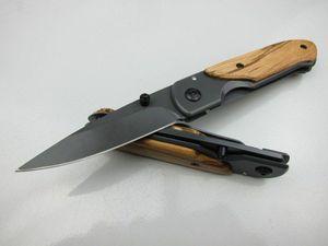 Benchmade papillon DA44 manuel en acier inoxydable Mini poche de presse couteau pliant Cutter Couteau de poche de camping