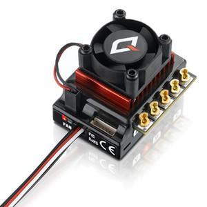 Hobbywing QUICRUN 10BL120 Sensed 120A 2-3S Lipo 속도 컨트롤러 Brushless ESC for 1/10 1/12 RC Car