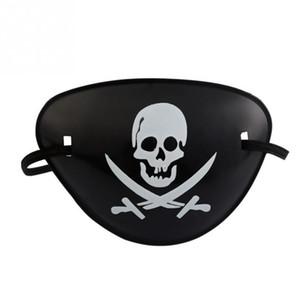 Halloween-Kostüm Dekoration Kostüm Party Requisiten Piratenpartei liefert Piraten Augenklappe Schädel Cosplay