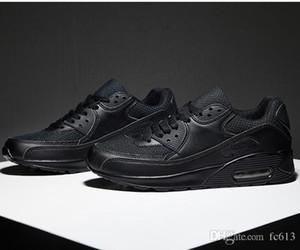 Nouveau Unisexe Casual 90 Chaussure Air Respirant Casual Mode Krasovki boty calcados obuv Tenisky Flats Hauteur Augmentant chaussures hommes baskets