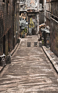 Old Street Graffiti Pared de ladrillo Fotografía de fondo Retro Vintage Grunge Carretera Digital Impreso Niños Niños Estudio fotográfico Telones de fondo