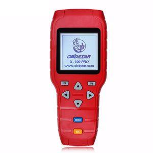 Programmeur de clé automatique OBDSTAR X100 PRO (C + D + E) Prise en charge de IMMOBILIZER + Réglage du compteur kilométrique + Fonction OBD + EEPROM Outil de scanner automobile