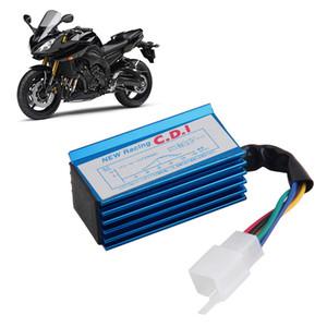 1 pc Desempenho 5 pin Racing CDI Caixa Azul + Bobina De Ignição Para GY6 Scooter Ciclomotor 50CC 70cc 90cc 110cc 125cc 125cc