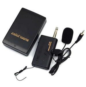 Microphone sans fil à distance Casque Stage Mic Système Receiver Lavalier Clip NOUVEAU