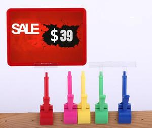 5Set pop werbung poster display ständer rack mode Supermarkt Daumen clip Obst gemüse preisschild Promotions kartenhalter kostenloser versand