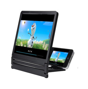 Newest Mobile Phone Screen Magnifier Eyes Protection Display 3D Video Screen Amplifier Folding Enlarged Expander Stand