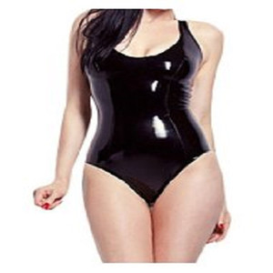 Latex NEW rubber sexy catsuit biki body seamless muffe prodotti