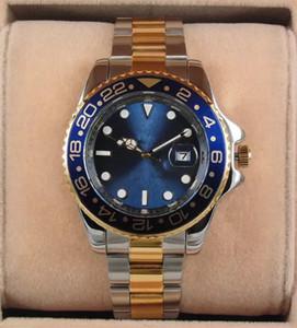 Montre de luxe de haute qualité de l'homme de la plus haute qualité de sport militaire montre de poignet montre jaune lumière or port 44 mm montre à quartz