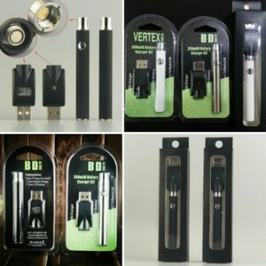 Vorheizen des 510-Faden-Akkus Vape Pen Charger Kit 350 mAh 3,4 V 3,7 V 4,0 V Vertex Blister Pack Vorheizen der Vape Pen ecig-Akkus