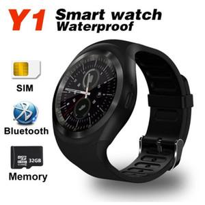 Smartwatch y1 erkek / kadın destek nano SIM TF kart pk q18s x6 dz09 k88h ile akıllı izle android / IOS smartphone