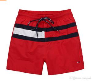 D'été Mode Hommes Shorts Nouvelle Marque Casual Couleur Solide Conseil Shorts Hommes Détendu Style Bermuda Masculina Shorts De Natation Hommes Sport Court