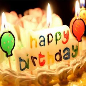 День рождения свечи дети подарок идеально подходит С днем рождения письма свеча зубочистка торт украшение партии ремесло Рождественская игрушка